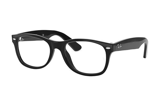 "Il modello ""NEW WAYFARER OPTICS"" degli occhiali da vista Ray-Ban"