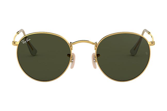 """Il modello """"ROUND METAL CLASSIC"""" degli occhiali da sole Ray-Ban"""