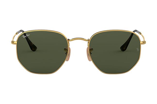 """Il modello """"HEXAGONAL FLAT LENSES"""" degli occhiali da sole Ray-Ban"""