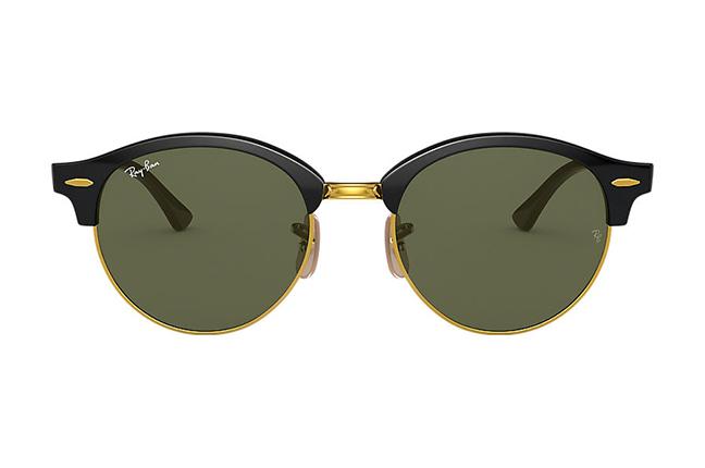 """Il modello """"CLUBROUND CLASSIC"""" degli occhiali da sole Ray-Ban"""