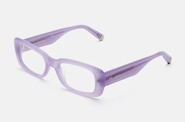 """Il modello """"Numero 75 Lilla"""" degli occhiali SUPER by Retrosuperfuture®"""