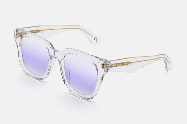 """Il modello """"Sabato Purple"""" degli occhiali SUPER by Retrosuperfuture®"""