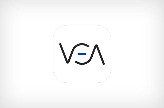 L'icona dell'applicazione VEA, attualmente compatibile solo con i dispositivi Apple