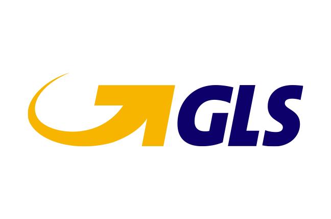 Il logo di GLS; un marchio che è garanzia di qualità nel settore delle spedizioni