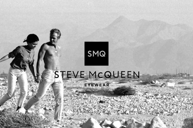Il logo degli occhiali Steve McQueen