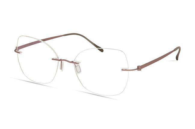 """Il modello """"4609"""" degli occhiali Modo, appartenente alla collezione """"PAPER-THIN RIMLESS"""""""