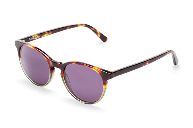 """Il modello """"PARIS IV"""" degli occhiali Ross and Brown, nella versione """"Wild Life / Classic Grey"""""""