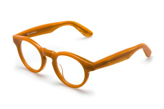 """Il modello """"HABANA"""" degli occhiali Ross and Brown, nella versione """"Psycho Honey"""""""