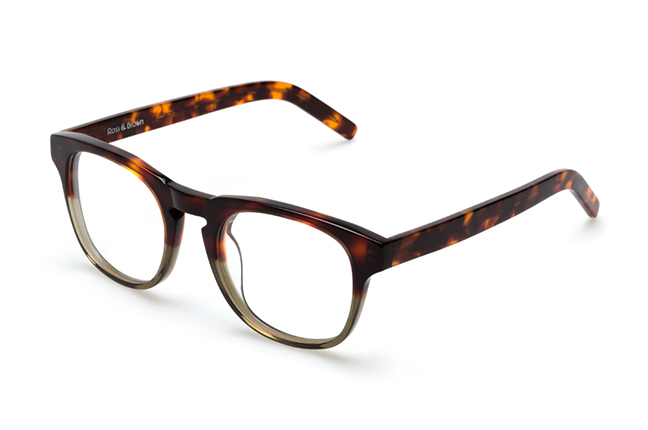 """Il modello """"MILANO"""" degli occhiali Ross and Brown, nella versione """"Wild Life"""""""