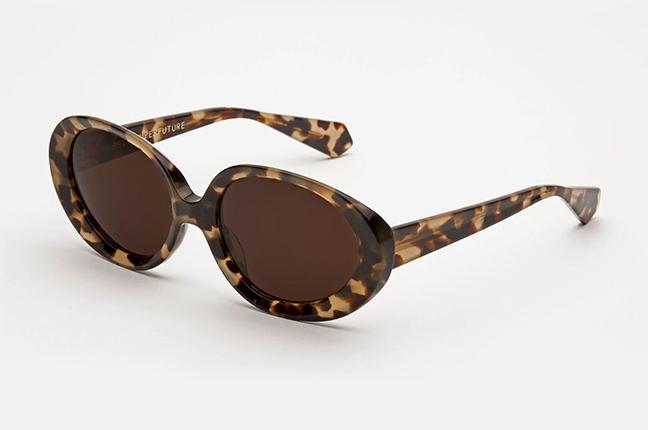 """Il modello """"Ines Brown Puma"""" degli occhiali SUPER by Retrosuperfuture®"""