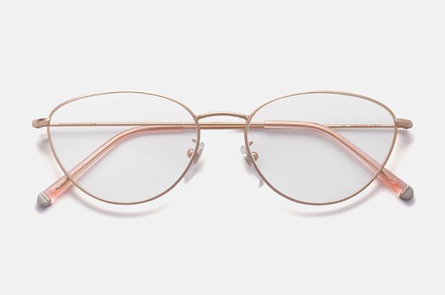 """Il modello """"Numero 59 Rosa Opaco"""" degli occhiali SUPER by Retrosuperfuture®"""