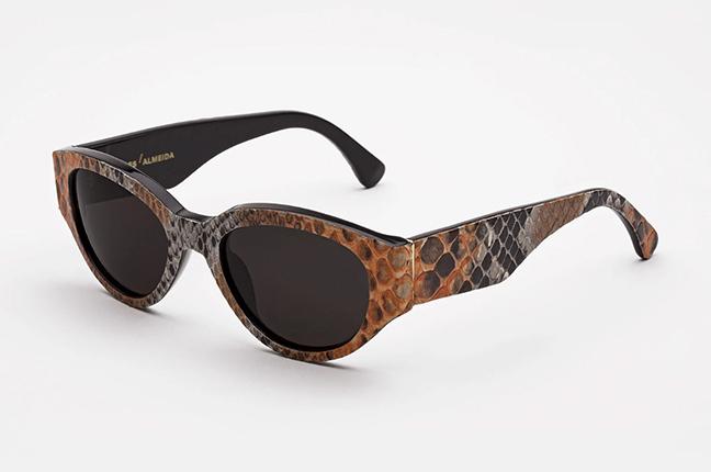 """Il modello """"Super & Marques Almeida Orange"""" degli occhiali SUPER by Retrosuperfuture®"""