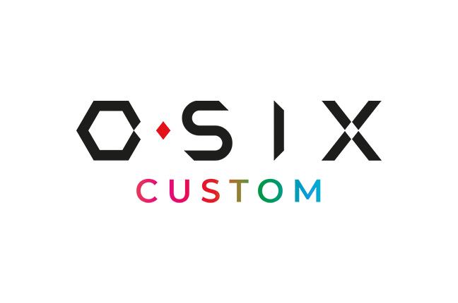 Il logo degli occhiali O-Six Custom