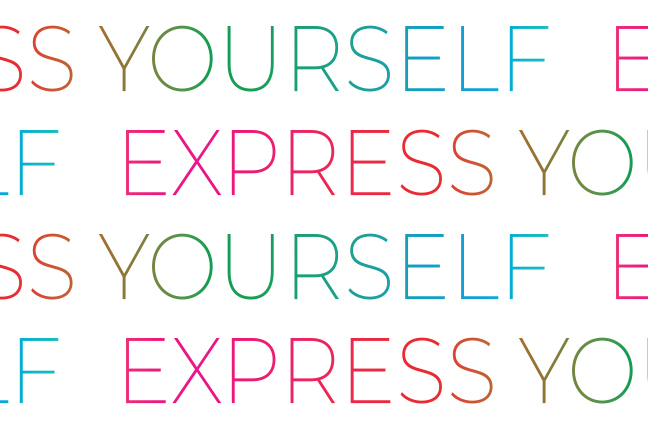 """Express Yourself"": il payoff degli occhiali O-Six Custom"
