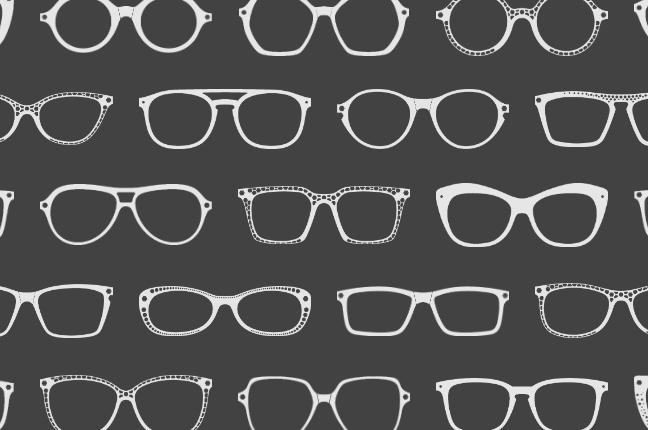 Il configuratore online degli occhiali O-Six Custom permette di scegliere fra +100 modelli per il design del frontale; qui un collage delle montature selezionabili