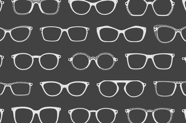 Il configuratore online degli occhiali O-Six Custom permette di scegliere fra +100 modelli per il design del frontale; qui un altro collage delle montature selezionabili