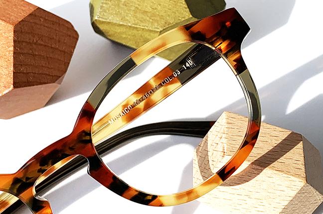 """Il modello """"48"""" degli occhiali Lamarca, appartenente alla collezione """"MOSAICO"""""""