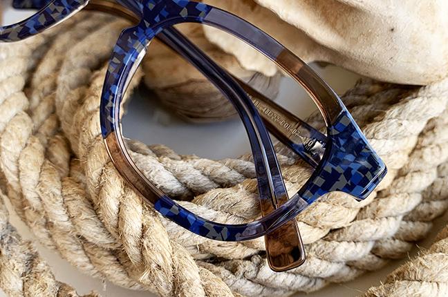 """Il modello """"48L"""" degli occhiali Lamarca, appartenente alla collezione """"MOSAICO"""""""