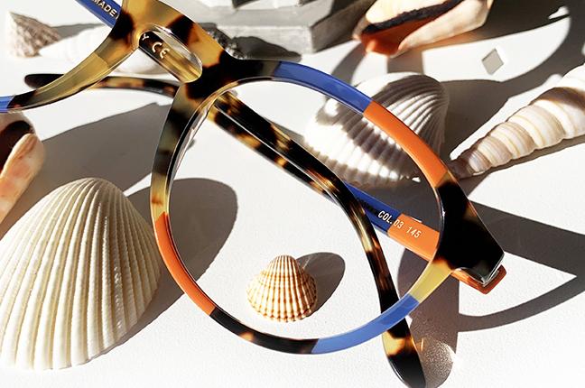 """Il modello """"62"""" degli occhiali Lamarca, appartenente alla collezione """"MOSAICO"""""""